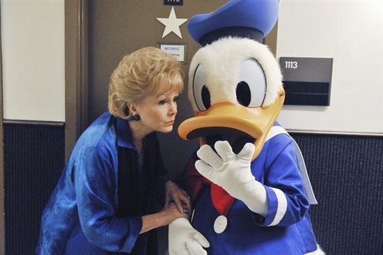 Debbie Reynolds, Donald Duck