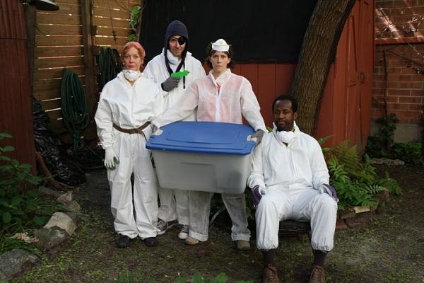 Mariann Mayberry (Alice), Paul Niebanck (Stig),  Joanna P. Adler (Kathy), Nathan Hinton (Toby)