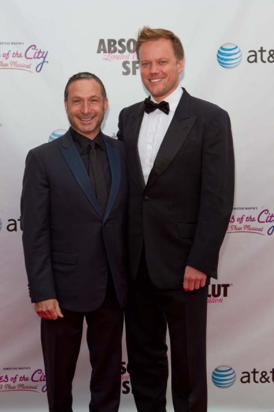 Director Jason Moore (right) with and award–winning TV director and producer Alan Poul