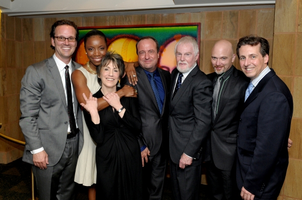Rick Boynton, Heather Headley, Barbara Gaines, Gary Griffin,Derek Jacobi, Michael Cerveris, Criss Henderson