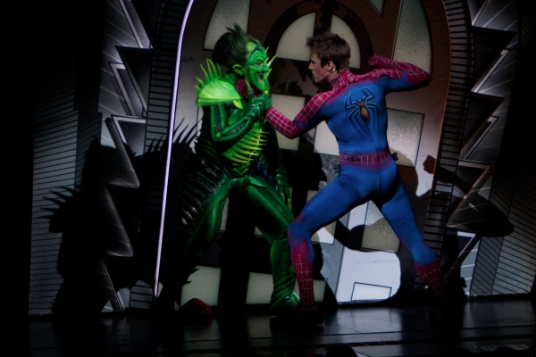 Photo Flash: New SPIDER-MAN 2.0 Production Photos