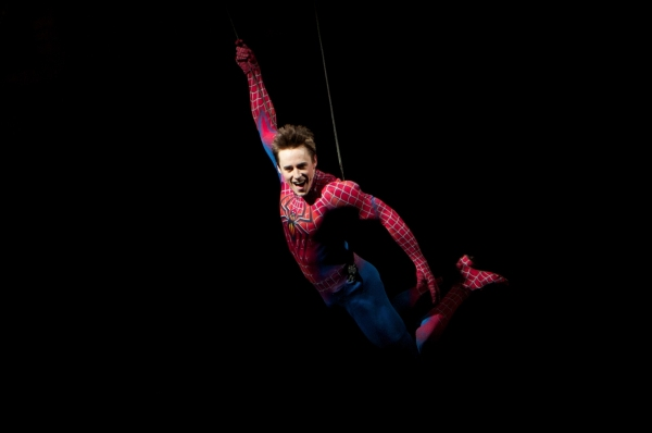 Spider-Man Turn Off the Dark Production Photo - Reeve Carney