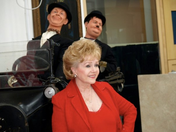 Debbie Reynolds at A Glimpse at Paley Center's Debbie Reynolds Exhibit!
