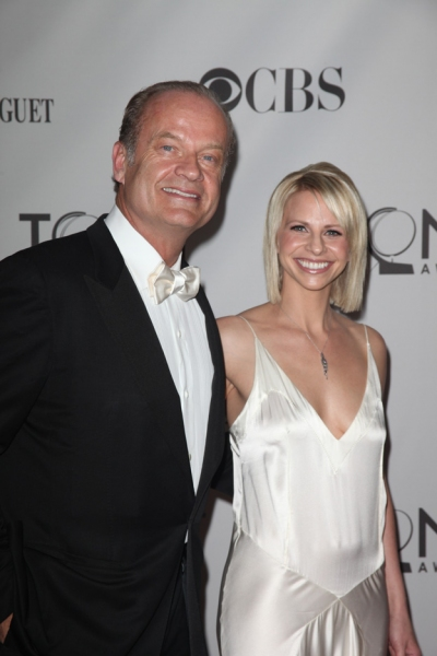 Kelsey Grammer and Kayte Walsh attending the 2011 Tony Awards at the Beacon Theatre in New York City