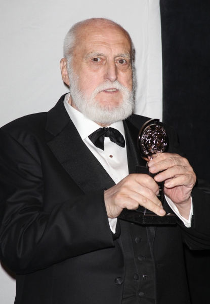 Desmond Heeley in the Press Room at The 65th Annual Tony Awards in New York City.  Photo