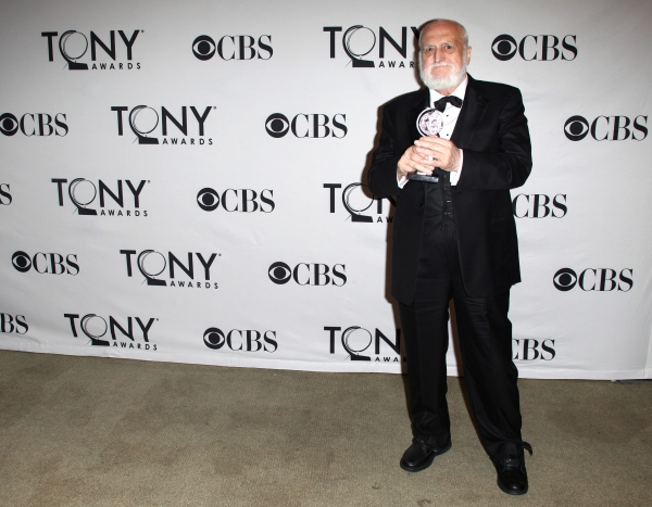 Desmond Heeley in the Press Room at The 65th Annual Tony Awards in New York City.