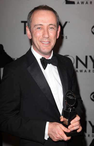 Nicholas Hytner in the Press Room at The 65th Annual Tony Awards in New York City.