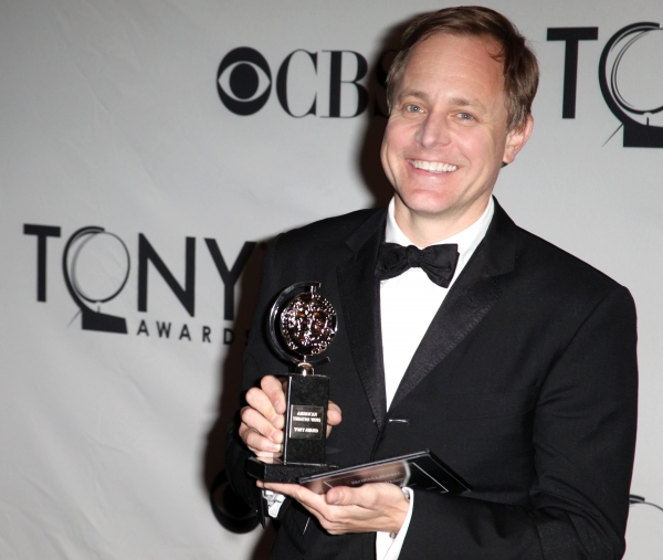 Scott Pask in the Press Room at The 65th Annual Tony Awards in New York City.