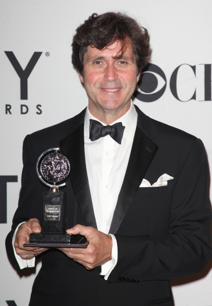 Brian Ronan in the Press Room at The 65th Annual Tony Awards in New York City.