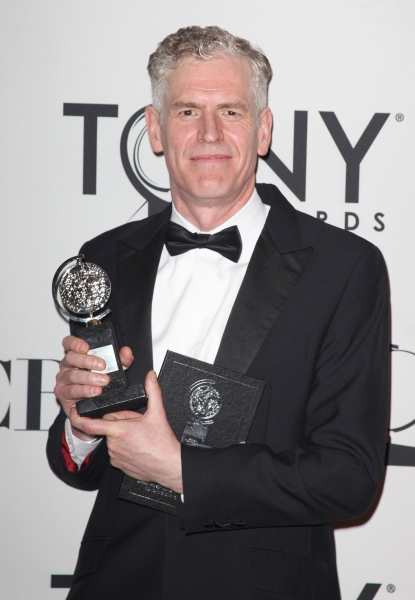 Christopher Shutt in the Press Room at The 65th Annual Tony Awards in New York City.