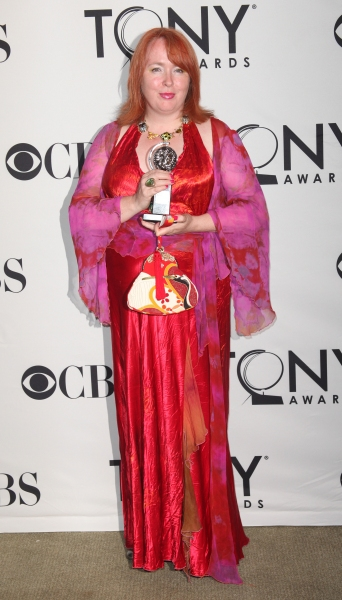 Rae Smith in the Press Room at The 65th Annual Tony Awards in New York City.  Photo