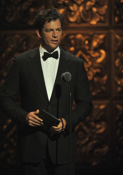 Harry Connick Jr. is shown on stage at the 2011 Tony Awards held at the Beacon Theatre in New York on June 12, 2011.   CBS/John P. Filo /Landov