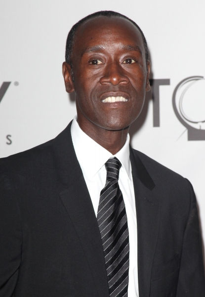 Don Cheadle attending The 65th Annual Tony Awards in New York City.