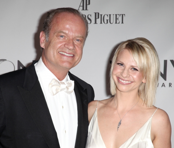 Kelsey Grammer and Kayte Walsh attending The 65th Annual Tony Awards in New York City.