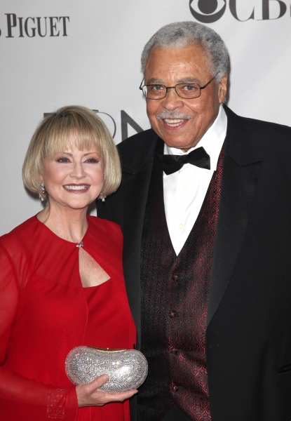 Cecilia Hart & James Earl Jones attending The 65th Annual Tony Awards in New York City.