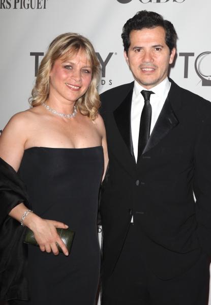 Justine Leguizamo; John Leguizamo attending The 65th Annual Tony Awards in New York City.
