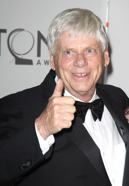 Robert Morse attending The 65th Annual Tony Awards in New York City.