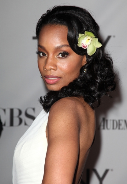 Anika Noni Rose attending The 65th Annual Tony Awards in New York City.  at 2011 Tony Awards Arrivals Part 2