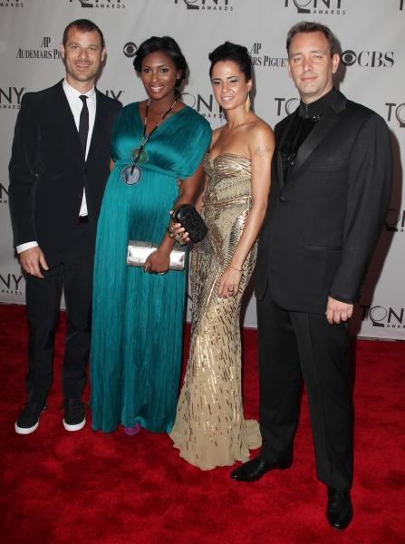 Matt Stone & Trey Parker attending The 65th Annual Tony Awards in New York City.