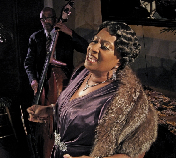 Jim Hankins (bass), Miche Braden (Bessie Smith).