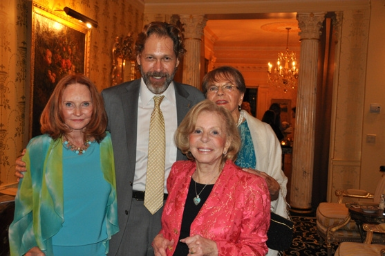 Mary Skillern, David Staller, Florence Teuscher and Anita Jaffe