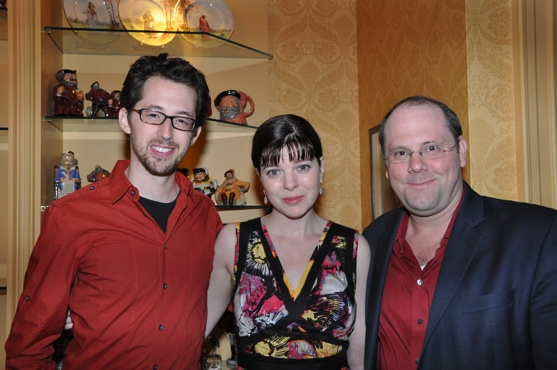 Josh Grisetti, Katherine Kellgrem and David Cote