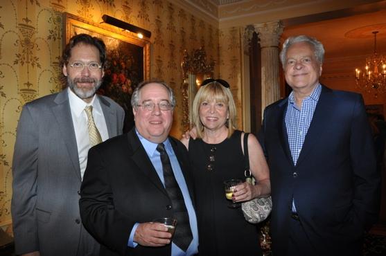 David Staller, Rich Terrano, Marylee Terrano and Robert Osborne