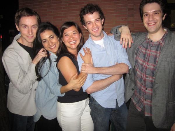 Adam Halpin, Nadine Malouf, Lisa Helmi Johanson, A.J. Shively and Composer David Levinson