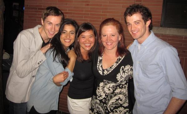 Adam Halpin,. Nadine Malouf, Lisa Helmi Johanson, Producer Suellen Vance,  A.J. Shively