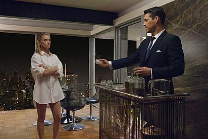 Amber Heard as Maureen, Eddie Cibrian as Nick