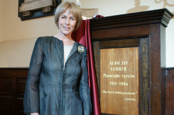 Liz Robertson at Alan Jay Lerner Gets Memorial Plaque at St. Paul's Church, Covent Garden
