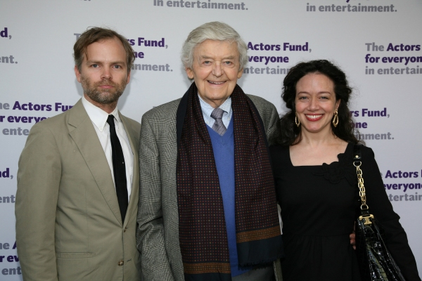 Stephen Heath, Hal Holbrook and Ginna Carter at Sean Penn, Hal Holbrook, et al. Celebrate Tonys on West Coast