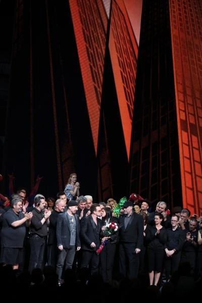 Photos: SPIDER-MAN: TURN OFF THE DARK Opening Night Curtain Call