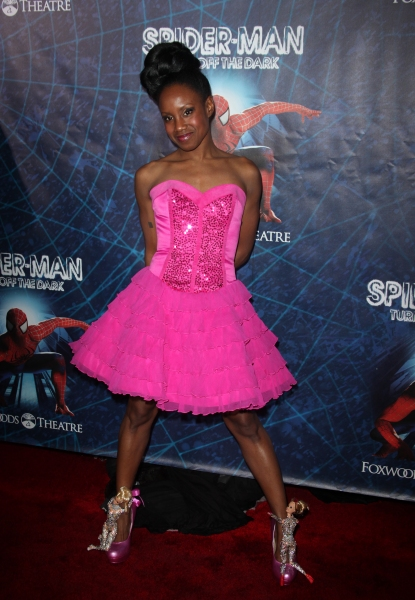 Ayo Jackson attending the ''Spider-Man Turn off the Dark'' Opening Night After Party  in New York City.