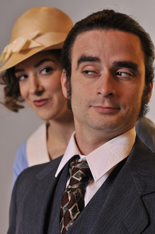 Victoria (Martina Ohlhauser) and Lecester Paton (Tony Salinas)