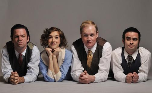 William Cardew (Brian Villalobos), Victoria (Martina Ohlhauser), Frederick Lowndes (Joe Hartman), Lecester Paton (Tony Salinas)