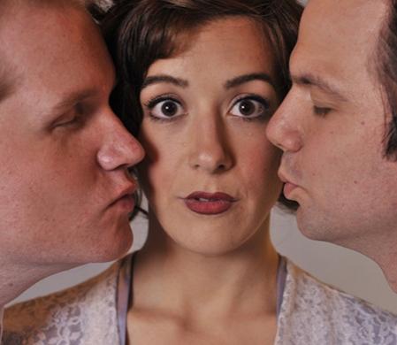 Frederick Lowndes (Joe Hartman), Victoria (Martina Ohlhauser), and William Cardew (Brian Villalobos)