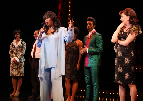 Photo Coverage: Original Shirelles Singer Shirley Alston Reeves Visits BABY IT'S YOU!
