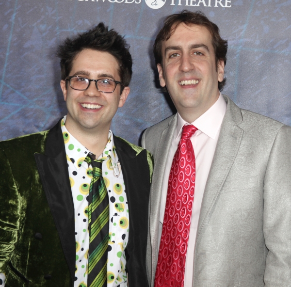 Glen Berger and Roberto Aguirre-Sacasa attending the Opening Night Performance of 'Spider-Man Turn Off The Dark' at the Foxwoods Theatre in New York City.