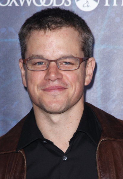 Matt Damon attending the Opening Night Performance of 'Spider-Man Turn Off The Dark' at the Foxwoods Theatre in New York City. at SPIDER-MAN Starry Arrivals - Part 1