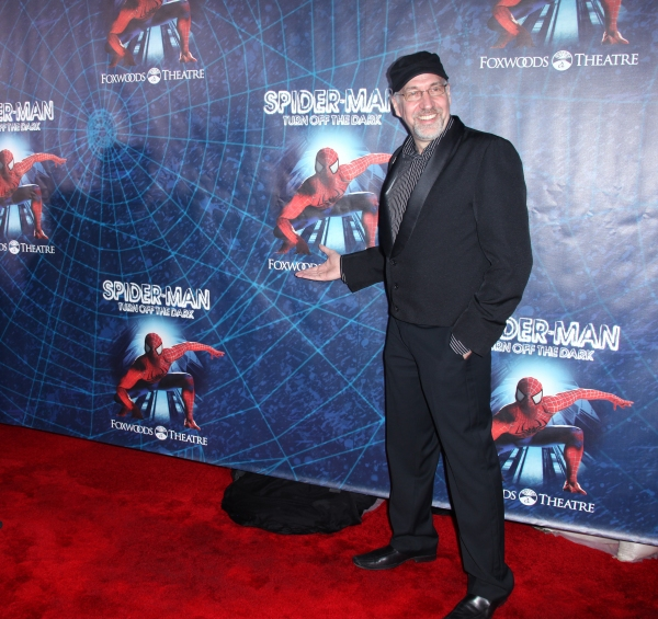 Philip William McKinely attending the Opening Night Performance of 'Spider-Man Turn Off The Dark' at the Foxwoods Theatre in New York City.