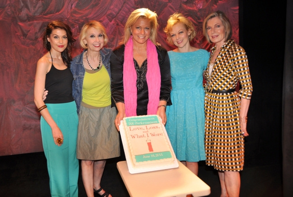 Photo Coverage: LOVE, LOSS & What I Wore Celebrates 700 Performances Off-Broadway