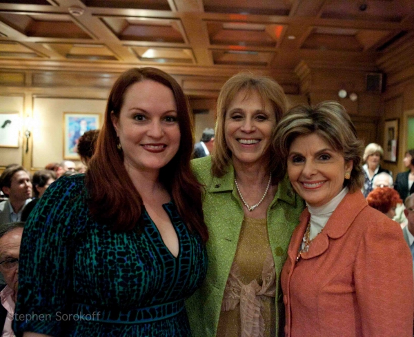 Friar, Dr. Judy Kuriansky, Gloria Allred at JOY BEHAR & DICK CAVETT Play The Friars Club
