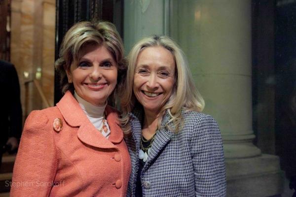 Gloria Allred & Eda Sorokoff