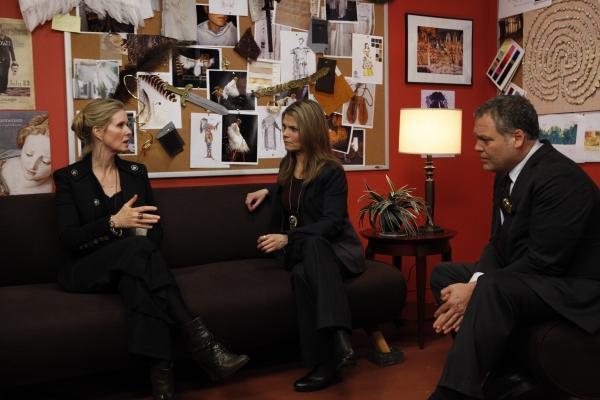 "LAW & ORDER: CRIMINAL INTENT -- ""Icarus"" -- Pictured: (l-r) Cynthia Nixon as Amanda R Photo"