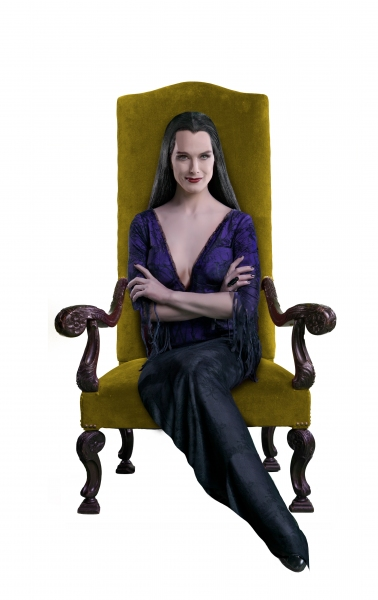 Photo Flash: First Look at Brooke Shields as THE ADDAMS FAMILY's Morticia!