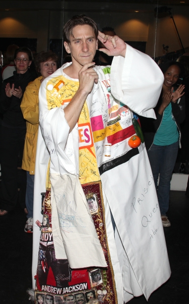 Joshua Tobak during the 'Spider-Man Turn Off The Dark' Opening Night Gypsy Robe Ceremony for Recepient Joshua Kobak at the Foxwoods Theatre in New York City.