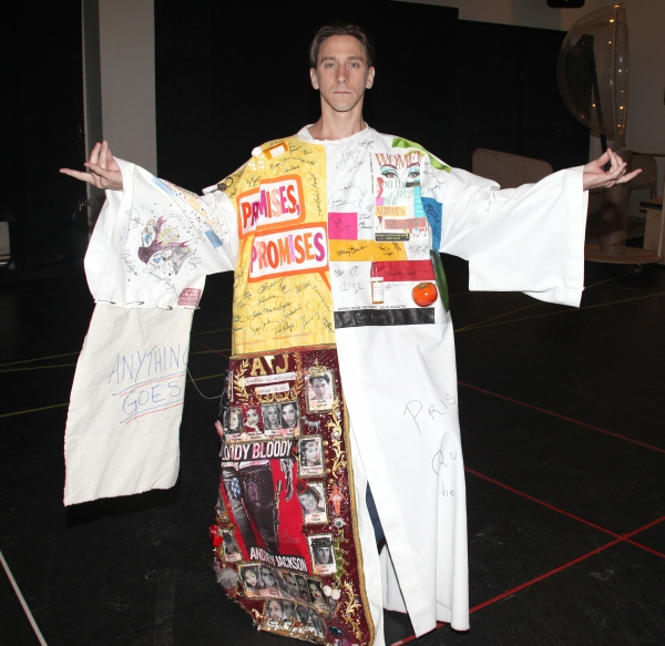 Joshua Kobak during the 'Spider-Man Turn Off The Dark' Opening Night Gypsy Robe Ceremony for Recepient Joshua Kobak at the Foxwoods Theatre in New York City.