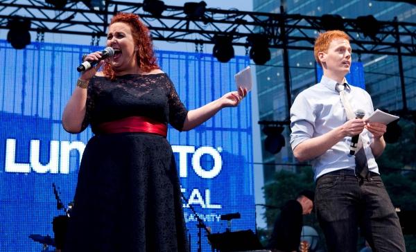 Photo Coverage: Luminato's Broadway Night Out in Toronto
