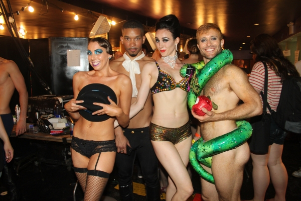 Photo Coverage: Backstage at BROADWAY BARES XXI